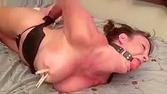 Hogtying my wife