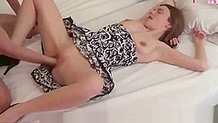 German Little Petite Student Teen First Time Fist Fuck