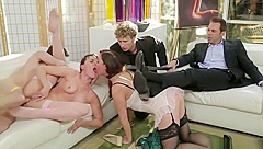 Pornstar sex video featuring Sovereign Syre and Dana DeArmond