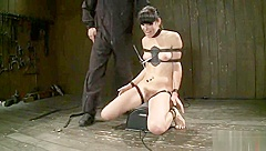 Ambrosial Bobbi Starr featuring hot BDSM video
