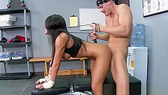 Big TITS in Sports - Jenaveve Jolie Johnny Sins - Rock Hard