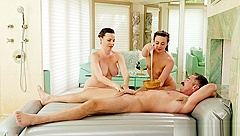 Four hands NURU massage - Dana DeArmond and Whitney Wright