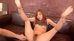 Yuika Akimoto deals a big one in her tiny holes - More at 69avs com