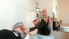 Polnish feet Misstress