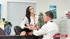 Asian pornstar sex and creampie