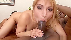 Lea Lexus Gets Her Mouth Fucked