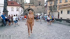 Nude walking in Europe