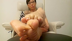 Asian soles and toes in your face pt1 (pink toes)