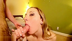 Perfect Wife Earns 2 Loads On Her Pretty Face