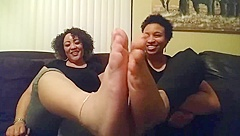 Aaabragg And Cassandra Feet Shows Part 1.