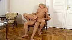 Beauteous experienced lady comes with a blowjob