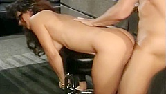 Flasher girl fucked in hotel lobby