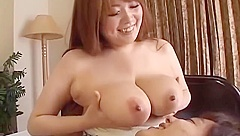 Busty Asian Girl Getting Her Nipples Sucked Giving Blowjob Rubbing Cock Wit