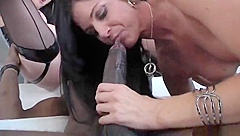 Dick sucking sex video featuring India Summer and RayVeness