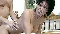 Morning Anal Purging Of Short Hair HungryEyes Brunette