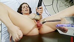 Seducing Bobbi Starr in ultra glam fetish fun