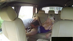 Euro Taxi Driver Gets Piercedpussy Fucked
