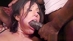 Group analized cuckolder gets mouth spermed