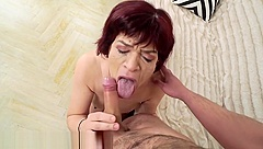 21Sextreme Sensual Granny Takes a Load on her Box