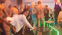 CFNM Party Turns Into Wild Fuckfest With Strippers
