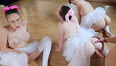 Oiled up orgy and party sluts share cock xxx Ballerinas