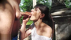 Extreme Fuck in Public Park.Her holes so hot,i cum twice.