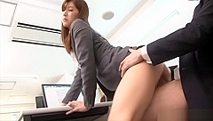Mature milf Aya Kisaki gets her gaping cunt drilled indoors