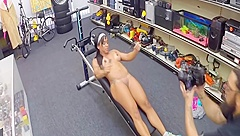 Crazy hot black girl real first time