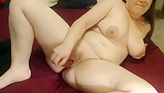 Nympho Chubby BBW Teen I met online cumming for me on cam